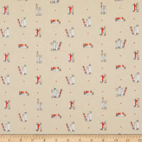 Laura Ashley Oxford Dotty Books Taupe