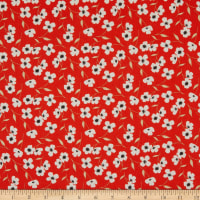 Laura Ashley Oxford Library Floral Red