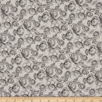 Laura Ashley Oxford Etched Floral Cream