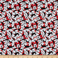 Disney Minnie Mouse Dreaming in Dots Minnie Tossed Stack Red