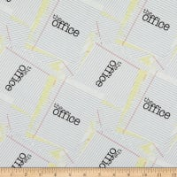 The Office Scrap Paper White