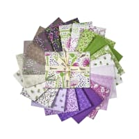 Clothworks Thistle Patch Fat Quarter Pack 20 Pcs. Multi