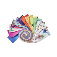 "Clothworks Flower Talk 2.5"" Strip Roll 40pcs"