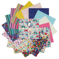 "Clothworks Forever Magic 10"" Squares 42pcs Multi"
