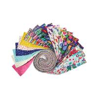 "Clothworks Forever Magic 2.5"" Strip Roll 40pcs Multi"