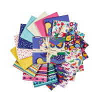 Clothworks Forever Magic Fat Quarter Pack 16 Pcs. Multi