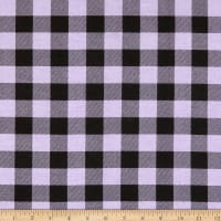 Flannel Buffalo Plaid Lavender