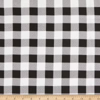 Flannel Buffalo Plaid White/Black