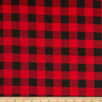 Flannel Buffalo Plaid Red