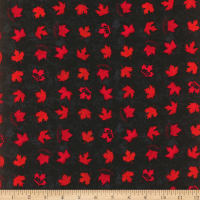 Canada Flannel Eh Leaves Red/Black
