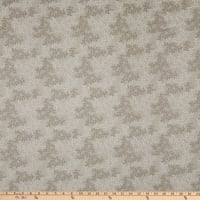 """108"""" Flannel Leaves Chateau Grey"""