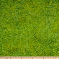 Island Batik Tiki Punch Fern Green Apple