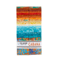 "Island Batik Cabana 2.5"" Strip Pack 40pcs"