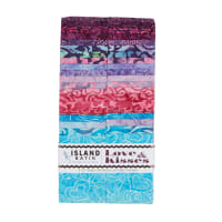 "Island Batik Love & Kisses Strip Pack 2.5"" Strip Pack 42pcs"