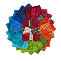 Island Batik Punch Fat Quarter Pack 20pcs