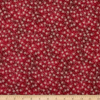 Maywood Studio Sheltering Tree Lazy Daisy Twirl Red/Cream