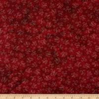 Maywood Studio Sheltering Tree Smoke Swirls Red/Cream