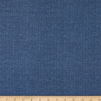 Maywood Studio Woolies Flannel Crosshatch Blue