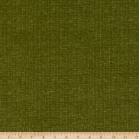 Maywood Studio Woolies Flannel Crosshatch Green