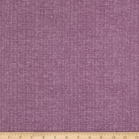 Maywood Studio Woolies Flannel Crosshatch Orchid