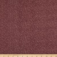 Maywood Studio Woolies Flannel Nubby Tweed Mauve