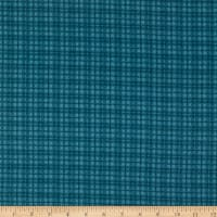 Maywood Studio Woolies Flannel Plaid Teal