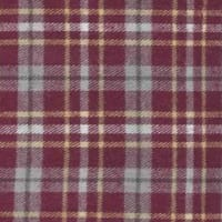 Yarn Dyed Flannel Plaid (Bolt, 15 Yds) Burgundy