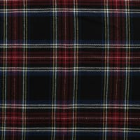 Yarn Dyed Flannel Plaid (Bolt, 15 Yds) Navy/Red