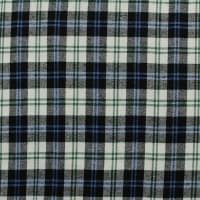 Yarn Dyed Flannel Plaid (Bolt, 15 Yds) Blue/Navy/White