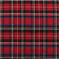 Yarn Dyed Flannel Plaid (Bolt, 15 Yds) Red/White/Blue