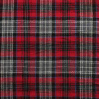 Yarn Dyed Flannel Plaid (Bolt, 15 Yds) Red/Gray