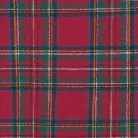 Yarn Dyed Flannel Plaid (Bolt, 15 Yds) Royal Stewart
