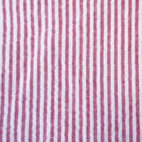 Seersucker Stripe (Bolt, 15 Yds) Red/White