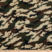Yukon Fleece™ Print  Bolt, 12 Yds Camouflage
