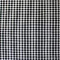 Gingham Check Bolt, 20 Yds Black/White