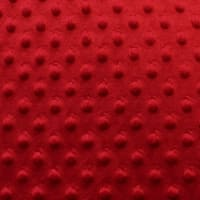 Snuggle Velour™ Bumps Bolt, 12 Yds Red