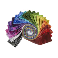 "In The Beginning Rainbow Of Jewels 2.5"" Strips 42pcs Multi"