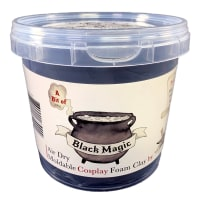 300g Moldable Cosplay Foam Clay Black
