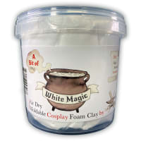 300g Moldable Cosplay Foam Clay White