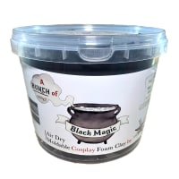 900g Moldable Cosplay Foam Clay Black