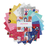 "Riley Blake Grl Pwr 5"" Stacker 42 Pcs."