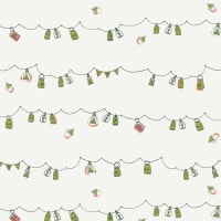 Art Gallery Dew & Moss Playful Mini Bunting