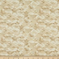 Henry Glass Scrap Happy Star Mosaic Taupe