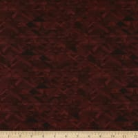 Henry Glass Scrap Happy Star Mosaic Red