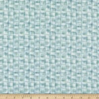 Henry Glass Scrap Happy Square Texture Light Blue