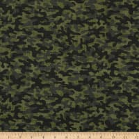 Timeless Treasures Camo Blender Green