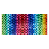 Shannon Hoffman Digital Minky Cuddle BackSplash Rainbow