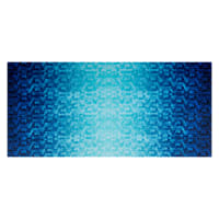 Shannon Hoffman Digital Minky Cuddle BackSplash Teal