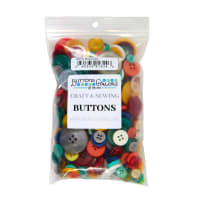 Buttons Galore Button Grab Bag Mixed Colors