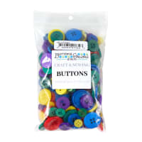 Buttons Galore Button Grab Bag Novelty Primary